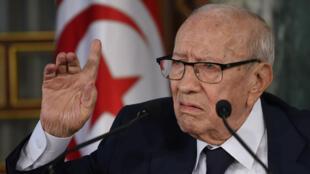 Le président tunisien Béji Caïd Essebsi est décédé jeudi 25 juillet.