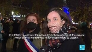 2020-11-25 13:05 France security law: Demonstrators decry bill to curb police images