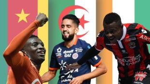 Moukandjo, Boudebouz et Seri, finalistes du Prix Marc-Vivien Foé 2017.
