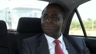 Le leader séparatiste anglophone Julius Ayuk Tabe, en novembre2017, à Abuja, au Nigeria.