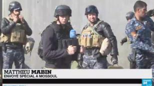 Les envoyés spéciaux de France 24 suivent l'avancée des troupes irakiennes à Mossoul depuis plus d'une semaine.