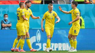 Euro-2021 football ukraine macédoine