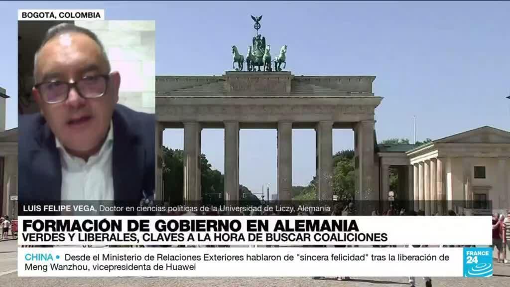 """2021-09-28 01:32 Luis Felipe Vega: """"Para Olaf Scholz será difícil consolidar una coalición"""""""