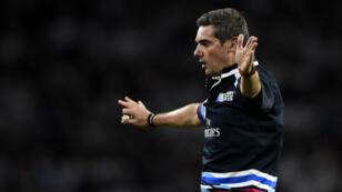 L'arbitre français Jérôme Garcès sera au sifflet de Nouvelle-Zélande - Afrique du Sud.