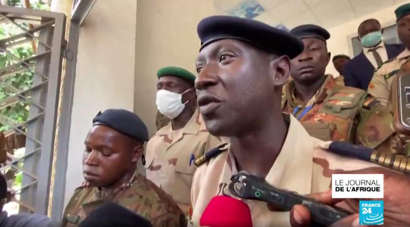 Ismaël Wagué, chef des putschistes maliens