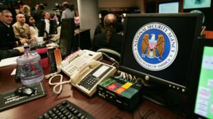 Les bureaux de la NSA dans la banlieue de Washington en 2006.