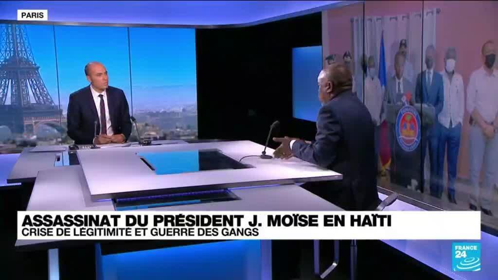 """2021-07-08 14:03 Assassinat du Président J. Moïse en Haïti: """"C'est un pays compliqué avec un vide institutionnel"""""""