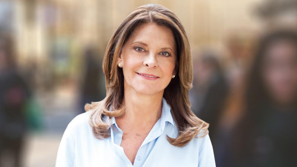La vicepresidente de Colombia, Marta Lucía Ramírez.