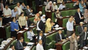 L'Assemblée nationale constituante en Tunisie