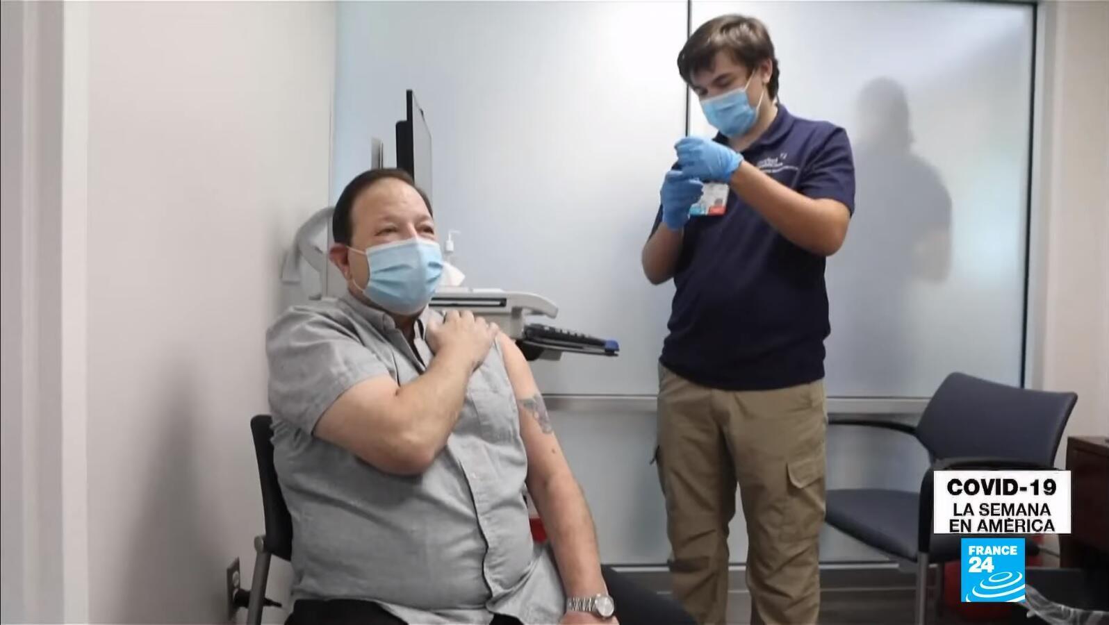 Semana en América - Vacunacion obligatoria Estados Unidos