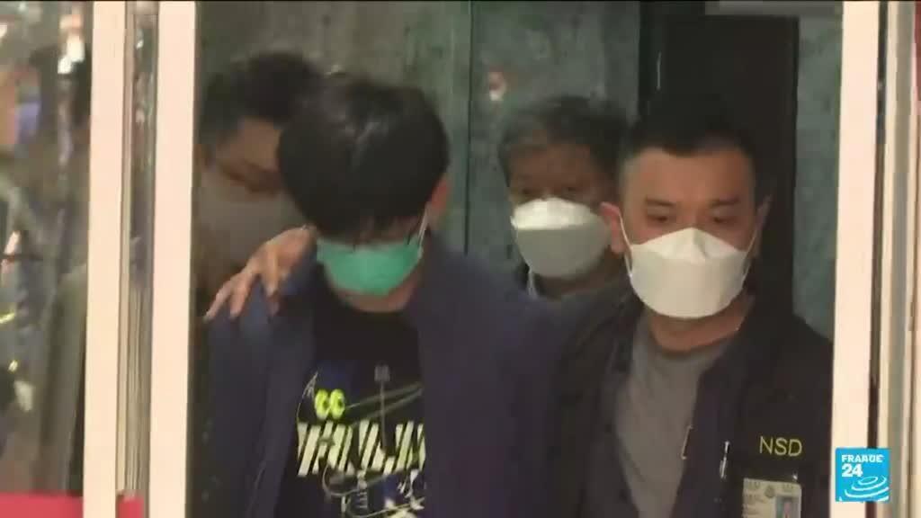 """2021-08-19 08:12 Hong Kong : des étudiants arrêtés pour """"apologie du terrorisme"""""""
