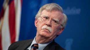 Le conseiller pour la sécurité nationale de la Maison Blanche, John Bolton.