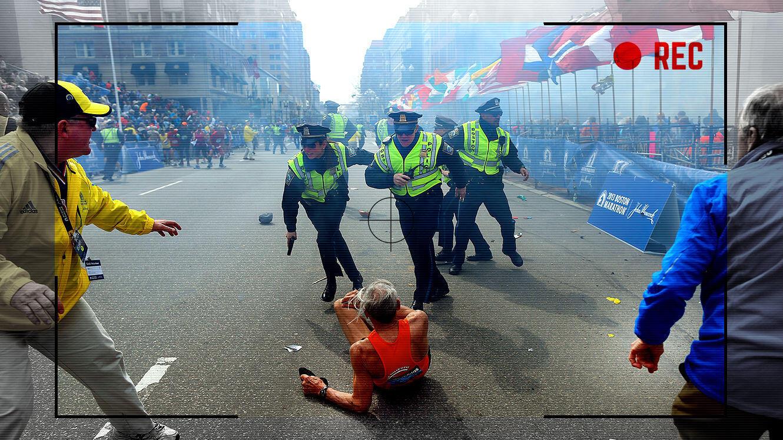 Le 15 avril 2013, sur la ligne d'arrivée du marathon de Boston, une deuxième explosion vient de retentir.