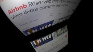 Le site de logements touristiques Airbnb.