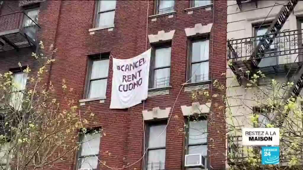 2020-05-06 06:38 A New York, des milliers de personnes font la grève des loyers