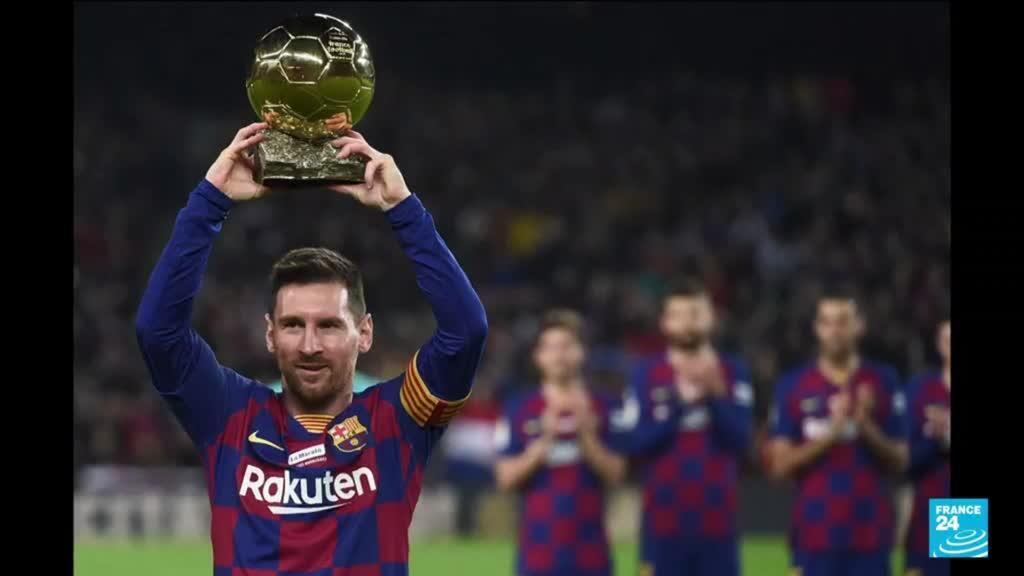 2021-08-06 11:08 Football : l'argentin Lionel Messi quitte le FC Barcelone