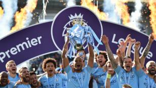 Manchester City a fêté son sixième titre de champion d'Angleterre.