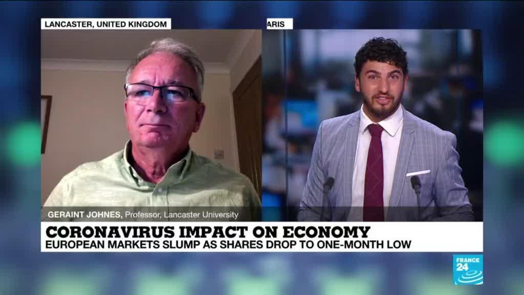 2020-07-30 23:04 Covid-19 impact on economy : european markets slump as shares drop to one-month low