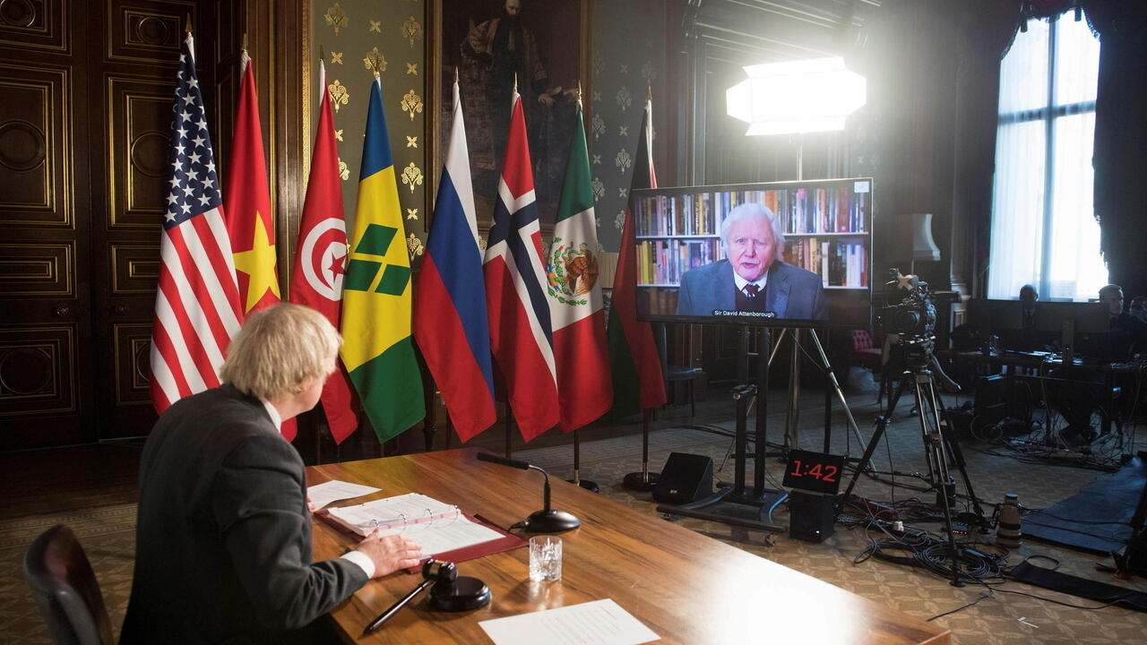 'Climate change biggest security threat,' David Attenborough tells UN