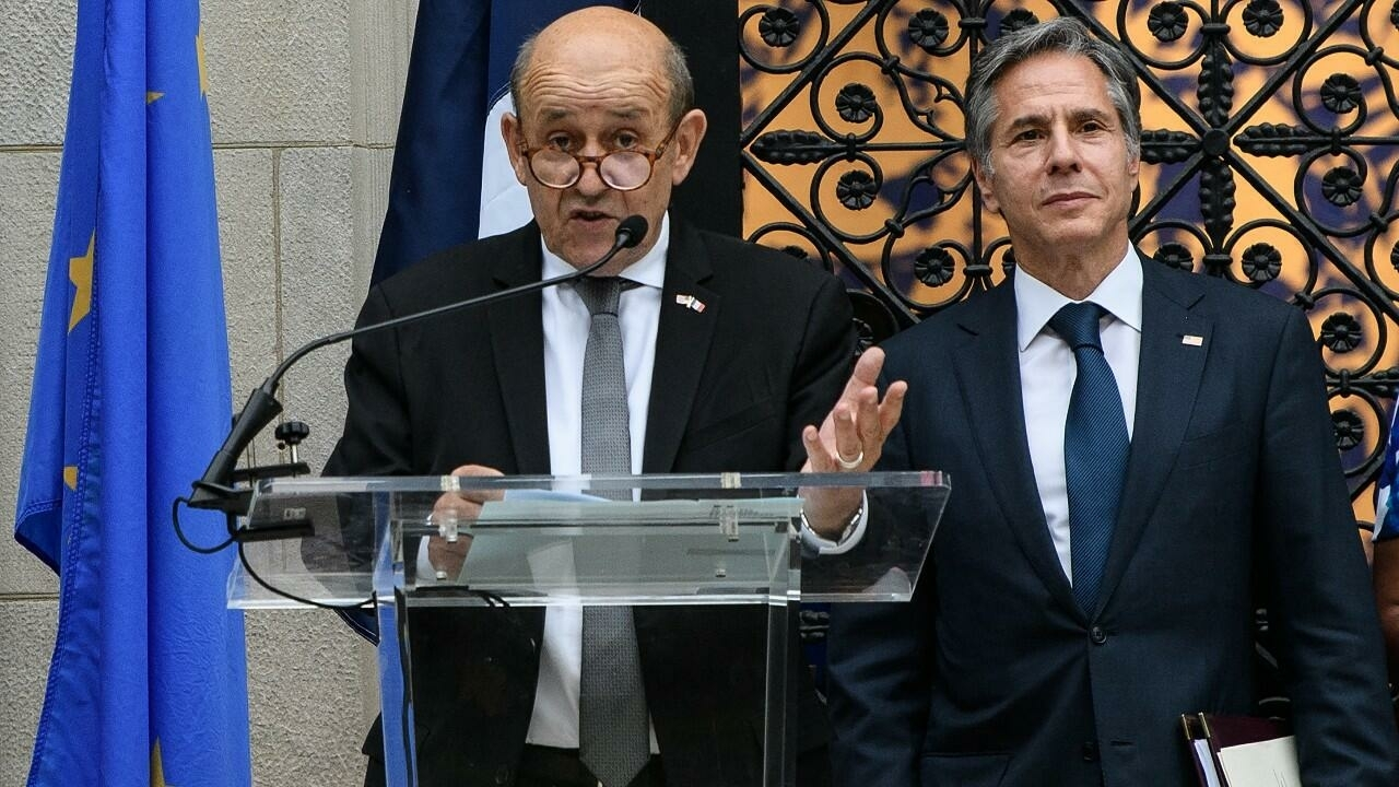 Restoring relations will require 'time and actions', French foreign minister tells Blinken