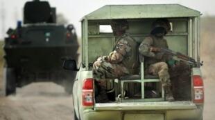 دورية للجيش النيجيري في ولاية بورنو بشمال البلاد
