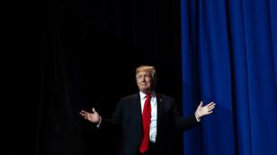 Le président américain Donald Trump lors d'un congrès sur le commerce, le 17 mai 2019 à Washington