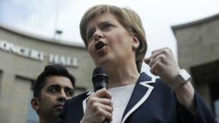 رئيسة الوزراء الإسكتلندية نيكولا ستيرجين