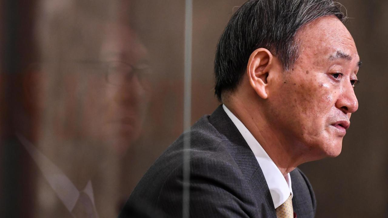 الأمين العام للحكومة يوشيهيدي سوغا في طوكيو، 12 سبتمبر/أيلول 2020.