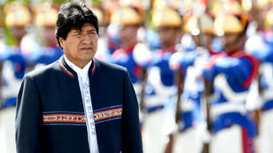 Evo Morales demande à amender la Constitution afin de pouvoir se représenter à la présidentielle de 2019.