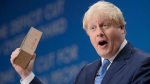 Le maire de Londres, Boris Johnson, ici en 2014, est connu pour aimer les projets pharaoniques.