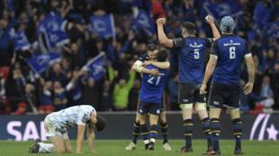 Leinster a remporte le 4e sacre européen de son histoire, samedi 12 mai 2018.
