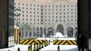 فندق ريتز كارلتون في الرياض حيث احتجز عشرات الأمراء والوزراء ورجال الأعمال في إطار حملة ضد الفساد.