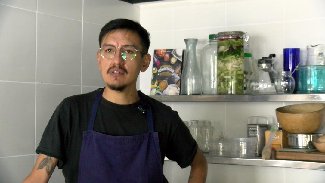 Santiago Rosero, del proyecto Cocina Idónea.