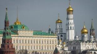 Le Kremlin à Moscou, en Russie.