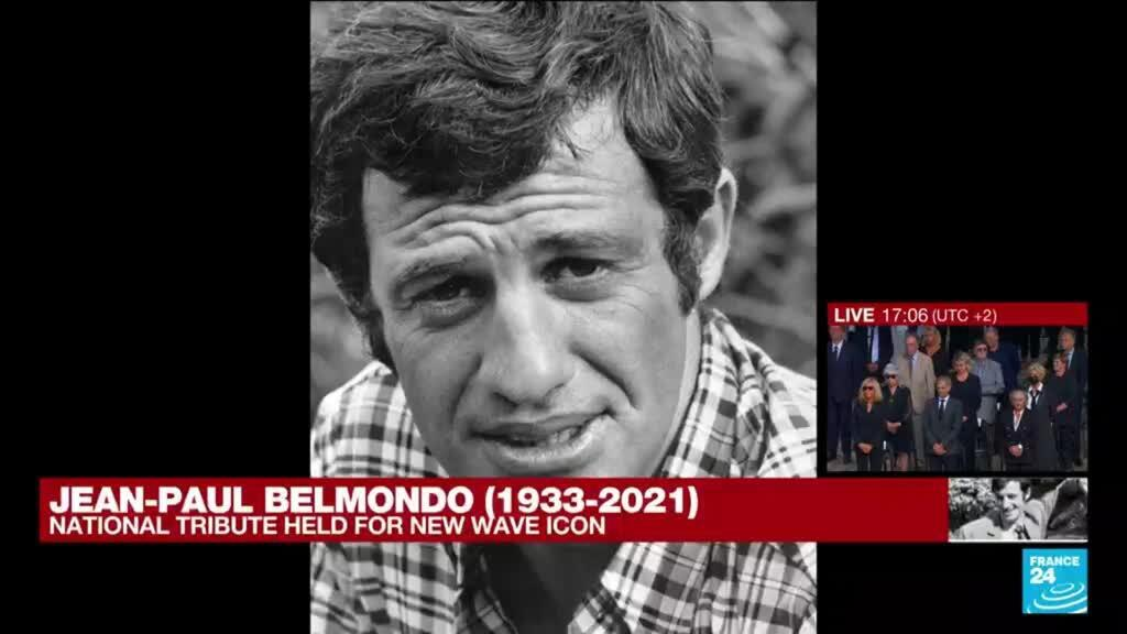 2021-09-09 17:06 France stages rare national tribute to film icon Belmondo