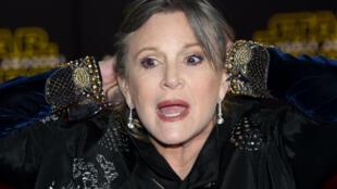 الممثلة الأمريكية كاري فيشر