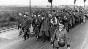French prisoners of war in May 1940.