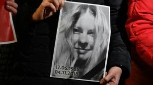 Kateryna Gandzyuk's death in November sparked condemnation of the government and drew renewed attention to dozens of assaults on other anti-corruption campaigners in Ukraine