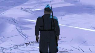 """""""Cafard"""", de Jan Bultheel, un voyage au cœur de l'absurdité de la guerre."""