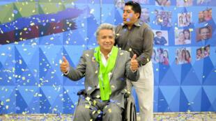 Lenin Moreno succèdera le 24 mai au charismatique mais polémique Rafael Correa, pour un mandat de quatre ans.