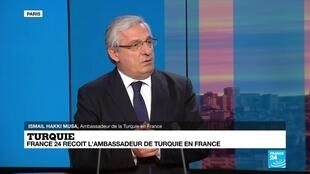 Ismaïl Hakki Musa, ambassadeur de la Turquie en France.
