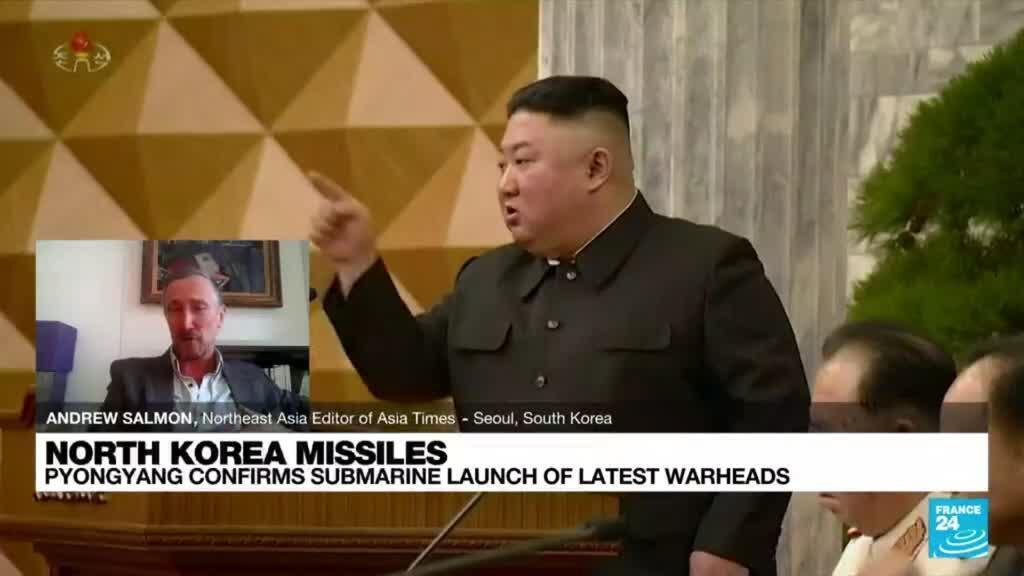2021-10-20 09:08 North Korea confirms submarine launch of new ballistic missile