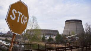 La zone d'exclusion de Chernobyl et les réacteurs nucléaires.