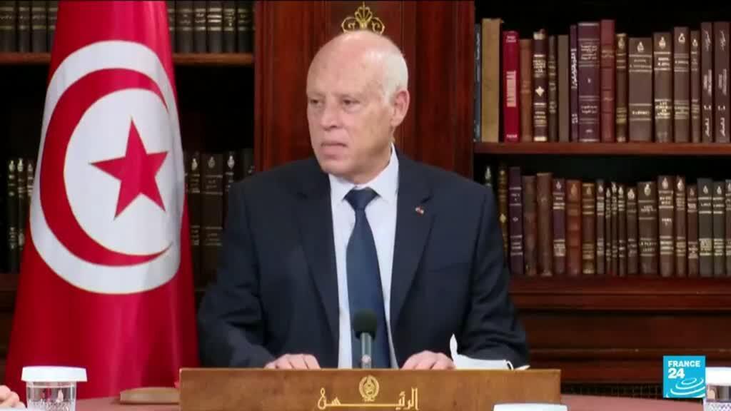 2021-08-24 10:37 Crise politique en Tunisie : le président Saïed prolonge le gel du parlement sine die