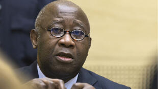L'audition de Laurent Gbagbo devant la Cour pénale internationale, le 19 février 2013.