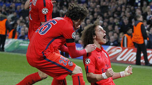 David Luiz est l'auteur de l'égalisation du PSG (1-1) à la 85e minute.