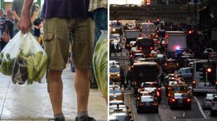Los neoyorquinos utilizan al año más de 23 millones de bolsas de un solo uso.