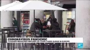 2020-10-26 14:02 Italians lament latest coronavirus restrictions