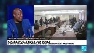 2020-07-23 11:07 Crise politique au Mali : 5 chefs d'Etat réunis pour une nouvelle médiation