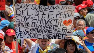 """Venezuela conmemora 30 años de los sucesos ocurridos durante el """"Caracazo"""" un serie de protestas en contra de las medidas económicas del Gobierno"""